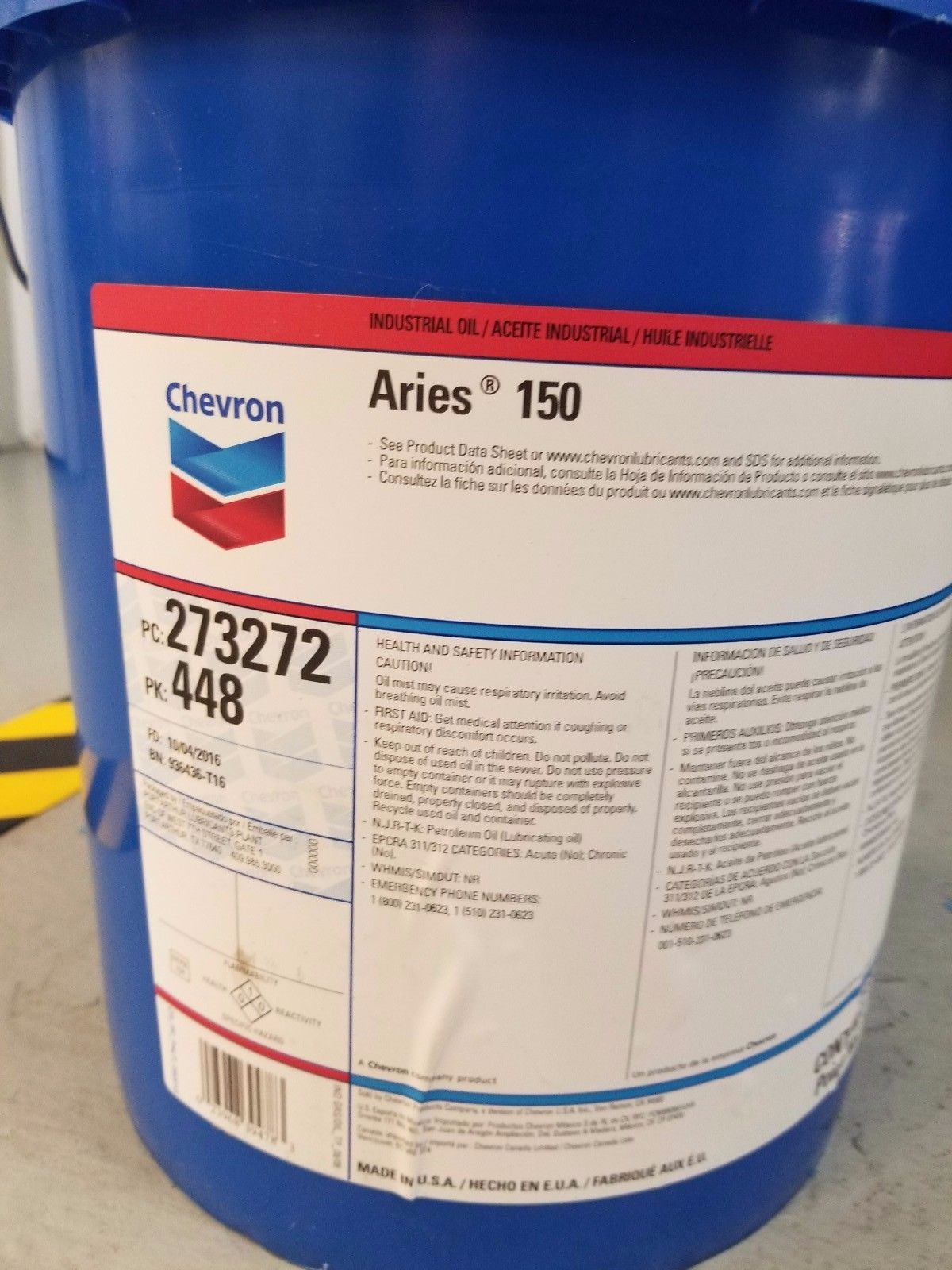 chevron gst oil iso 68 msds